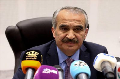 إرادة ملكية بتعيين سمير المبيضين وزيراً للداخلية
