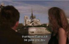 قبل الغروب.. فيلم سينمائي توقع اختفاء كاتدرائية نوتردام منذ15 عاماً/ فيديو