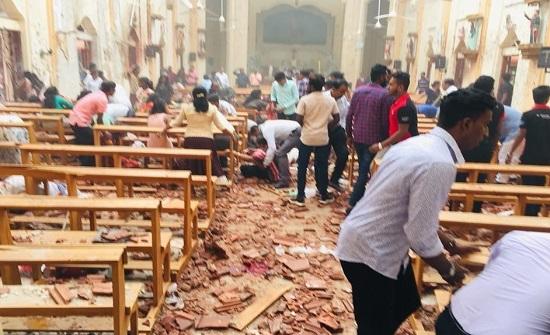 وقوع نحو 200 قتيل و599 جريحاً بـ8 تفجيرات هزت عدة كنائس وفنادق في سريلانكا/ فيديو