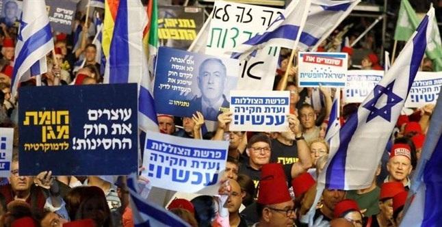المعارضة الإسرائيلية ترفض ان يتحول نتنياهو الى دكتاتور مثل اردوغان