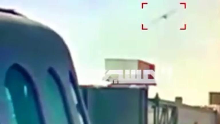 الحوثيون يبثون مشاهد لاستهداف منشآت في مطار أبو ظبي بطائرة مسيرة/ فيديو