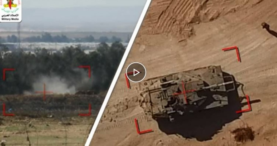 سرايا القدس تستهدف آليتين عسكريتين بطائرة مسيّرة لأول مرة خلال المعركة الأخيرة/ قيديو