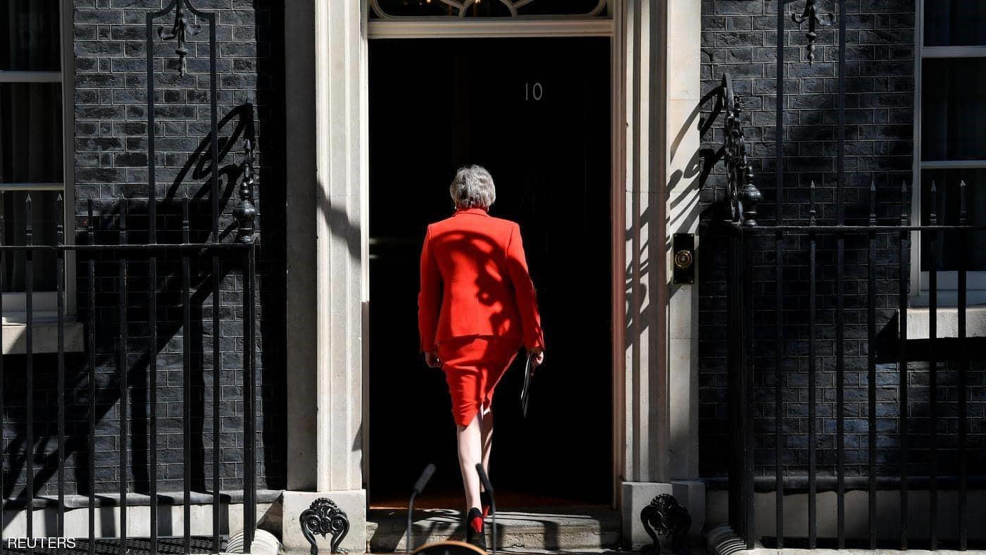 تيريزا ماي تبكي وهي تعلن استقالتها من رئاسة الحزب والحكومة في بريطانيا/ فيديو