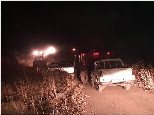 الدفاع المدني والقوات المسلحة والأمن العام ووزارة الزراعة تسيطر على حريق بطول 7 كلم امتد من الأراضي المحتلة
