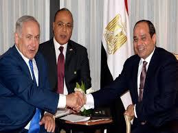 خلافاً لارادة الشعب المصري.. صداقة السيسي ونتنياهو الحميمة تؤسس لامتن علاقة بين مصر واسرائيل