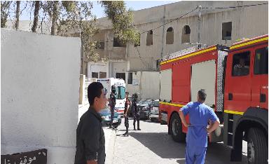 فاجعة.. وفاة و3 إصابات في إطلاق نار داخل مستشفى في الكرك، والقاتل يعمد لحرق نفسه