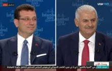 مرشح المعارضة لانتخابات اسطنبول يتفوق في مناظرة تلفزيونية على زلمة اردوغان 