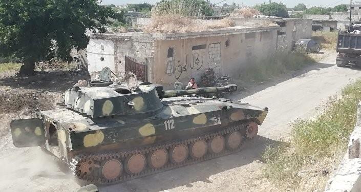 الجيش السوري يدمر في ريف حماة مسلحي