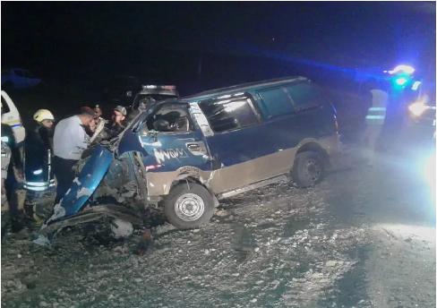 4 وفيات بحادث تصادم على الطريق الصحراوي قرب معان