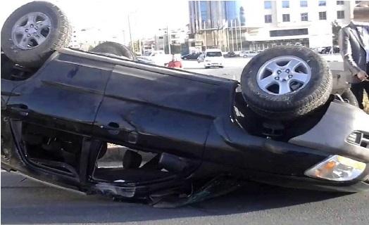وفاة 6 اصابات بحادث تدهور مركبة في محافظة العقبة