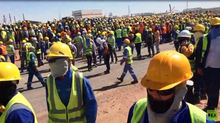 اعتداء جماعي على مهندسين عرب بينهم اردنيون في كازاخستان/ فيديو