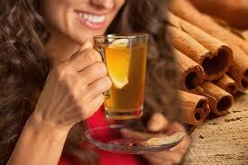 شراب سحري من القرفة والغار والشاي الاخضر يذيب دهون البطن