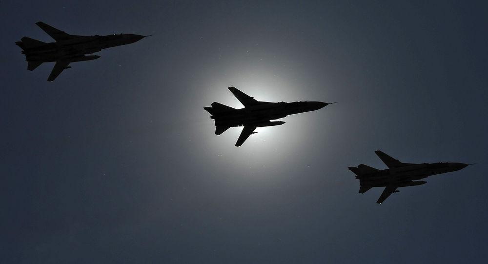 ضربة قاصمة.. مقاتلات سورية وروسية تدمر مقر اجتماع لقادة