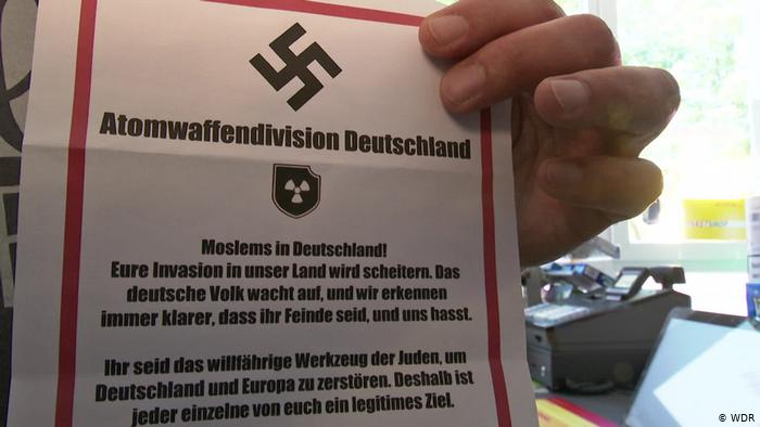 النازيون الجدد يوزعون في مدن المانية منشورات كراهية وتهديد للمسلمين