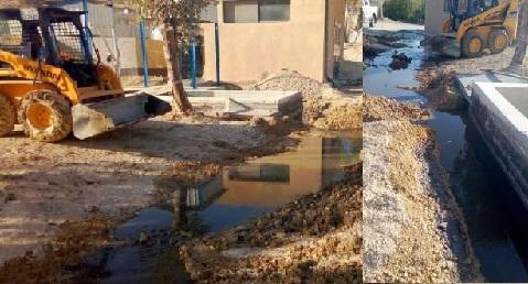 محطة تنقية الكرك تتعرض لعمل تخريبي يؤدي لفيضان المياه العادمة الى شوارع واودية المنطقة