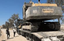 ضبط وحجز 3 حفارات تستخرح صخور بازلت من أراضي الخزينة