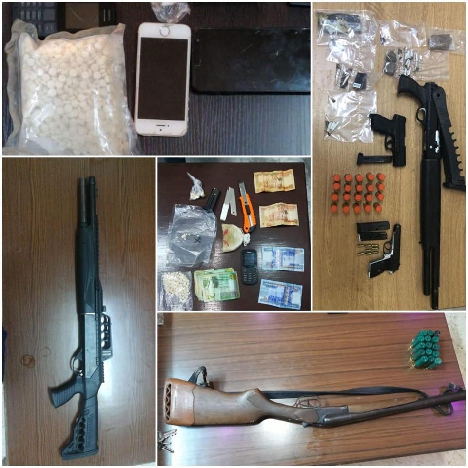 إدارة مكافحة المخدرات تعتقل ٦٢ شخصاً من مروجي ومتعاطي المواد المخدرة