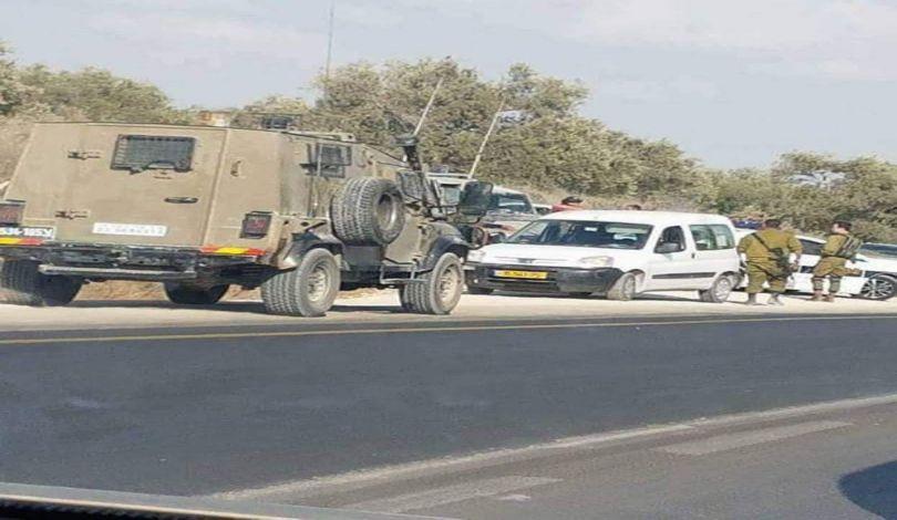 إصابة ضابط إسرائيلي بجراح جراء تعرضه للرشق بالحجارة شرق قلقيلية