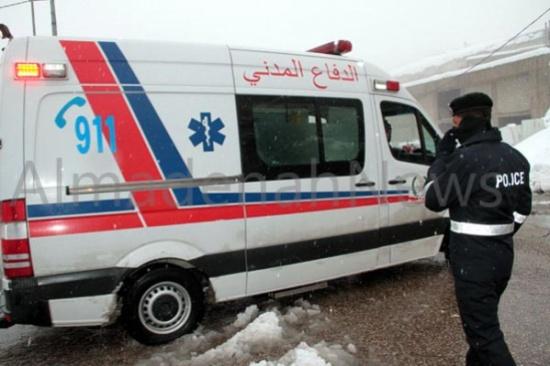 إصابة فتاتين بحادث دهس بالقرب من كلية غرناطة في اربد