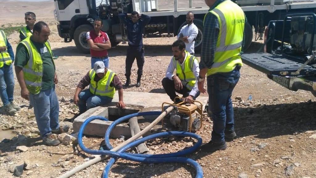 ضبط 4 اعتداءات جديدة على ناقل مياه الديسي بمنطقة القطرانة