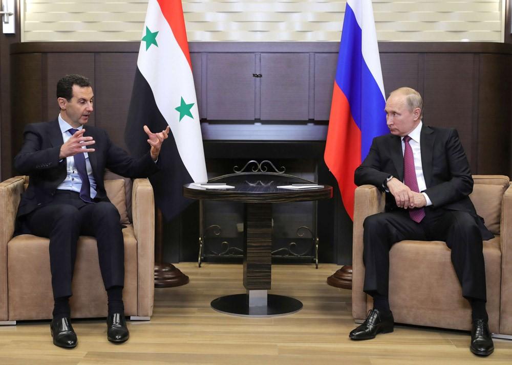 بوتين: لقد تحررت غالبية اراضي سوريا ولكننا سوف نواصل دعمها في مكافحة الإرهاب حتى القضاء عليه نهائياً