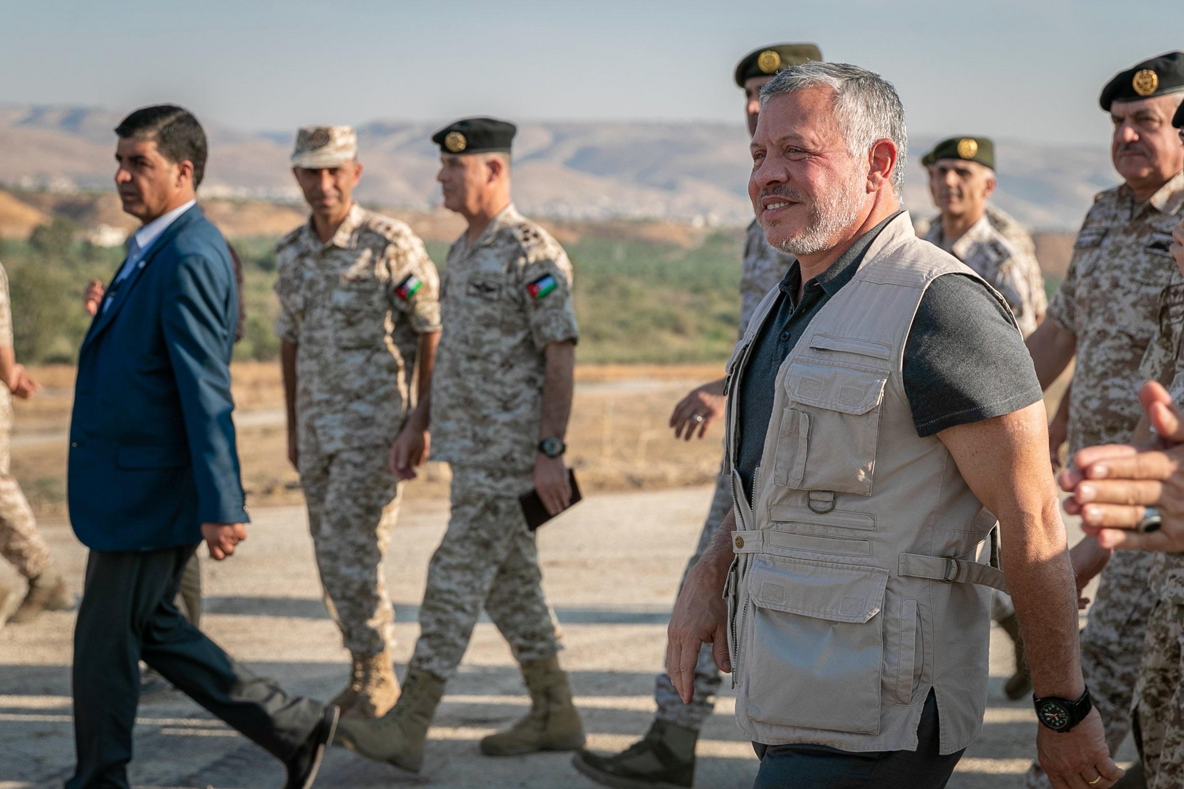 الملك يزور الباقورة اليوم ويعلن ان سيادة الأردن على أرضه فوق كل اعتبار