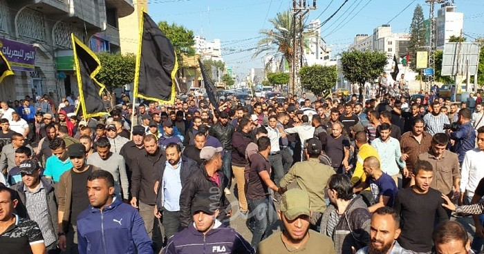 خلال جنازة الشهيد أبو العطا.. البطش يتوعد نتنياهو بدفع الثمن/ فيديو