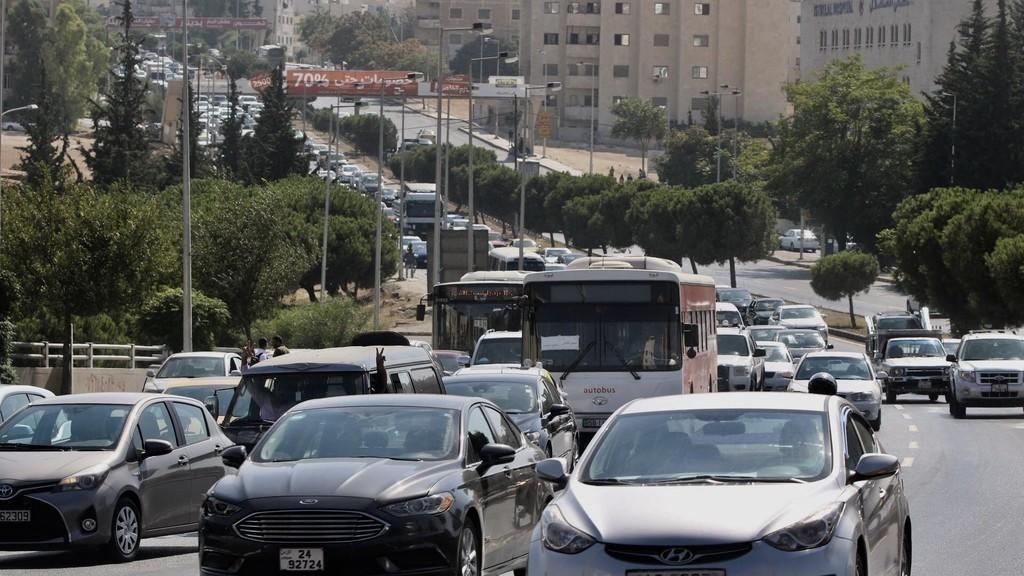 عمان تعج ب 1.2 مليون مركبة خصوصي فضلا عن العمومي والحافلات والشحن