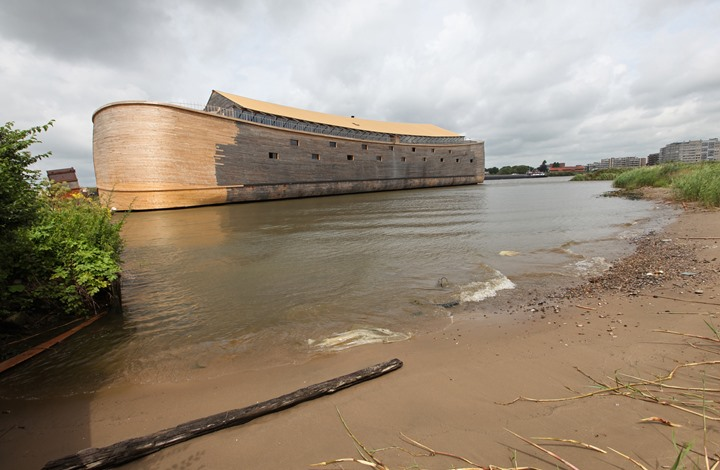لأول مرة.. صورة ثلاثية الأبعاد لسفينة نوح طبقا لاكتشاف بقاياها