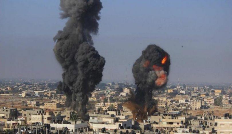 رغم التهدئة.. الاحتلال يستأنف قصفه لقطاع غزة فجر اليوم بدعوى الرد على رشقة صاروخية