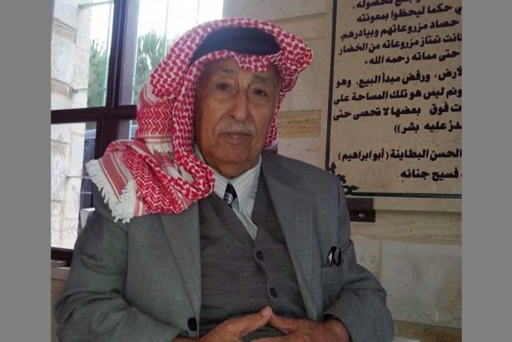فجيعة اردنية برحيل شيخ شعراء الوطن نايف أبو عبيد صباح اليوم
