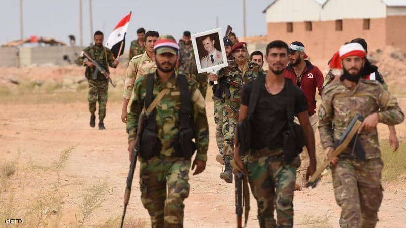 الجيش السوري يسحق مسلحي