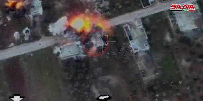 هكذا قام الجيش السوري بالقضاء على إرهابيي أردوغان وتدمير مدرعاتهم على محور النيرب/ فيديو