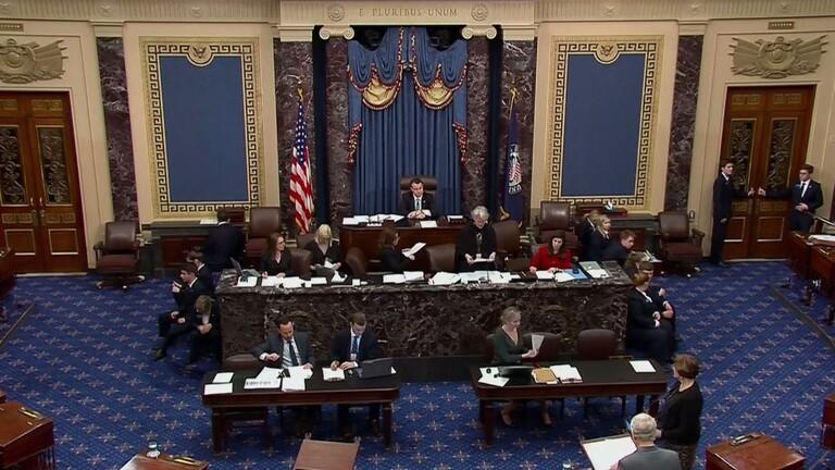 مجلس الشيوخ الأمريكي يوافق اليوم على قرار للحد من