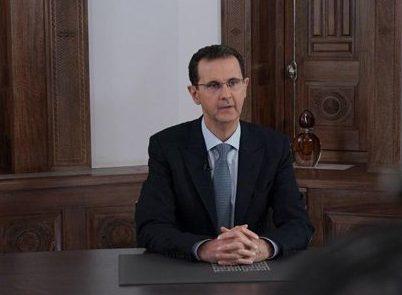 إصابة الرئيس الأسد بهبوط ضغط طفيف اثناء خطابه بمجلس الشعب