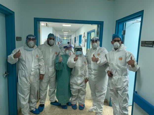 عملية قيصرية ناجحة لمريضة مصابة بفيروس كورونا بمستشفى الملك المؤسس