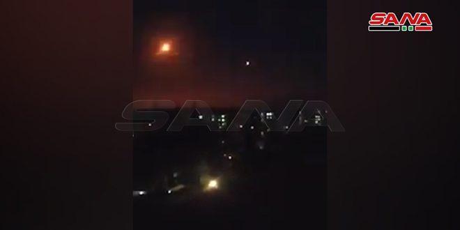 اشتشهاد 3 مدنيين.. الدفاعات الجوية السورية تتصدى لعدوان إسرائيلي بالصواريخ من فوق لبنان وتسقط غالبيتها/ فيديو
