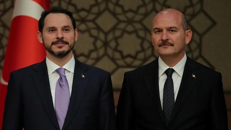 استقالة وزير الداخلية التركي تكشف عن صراعات مراكز القوى في محيط أردوغان ودور صهره