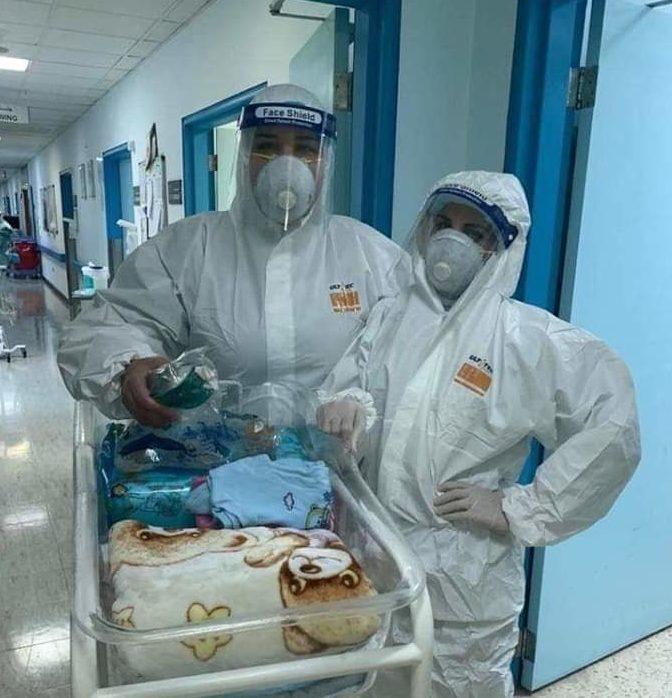 نجاح عملية ولادة قيصرية لمصابة بالكورونا في مستشفى الملك المؤسس