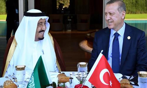 تجدد الحرب الاعلامية بين البلدين.. فضائية تركية تتهم السعودية باستخدام ثروتها الضخمة في تأجيج حروب الشرق الأوسط.