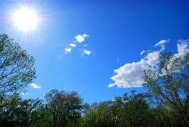 انخفاض قليل على درجات الحرارة اليوم واجواء حارة نسبيا