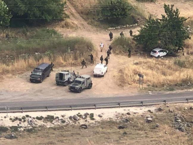 استشهاد سائق فلسطيني بزعم محاولته دهس جنود صهاينة شمالي رام الله