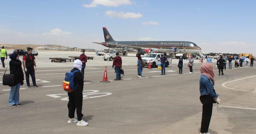 القوات المسلحة تبدأ اليوم تنفيذ خطة إخلاء القادمين لمطار الملكة علياء إلى مناطق الحجر الصحي