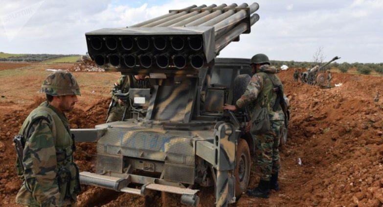 تركيا تخرق اتفاقها مع روسيا وتهاجم الجيش السوري بايدي عملائها في العصابات الارهابية