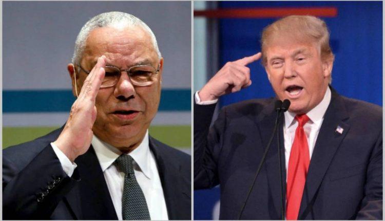 ترامب يبق البحصة: العراق لم يمتلك أسلحة دمار شامل، وكولن باول ورّطنا في