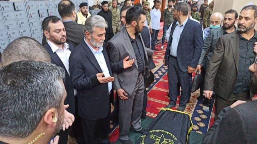 حركة الجهاد الاسلامي تنعي قائدها السابق رمضان شلح وتعلن دفن جثمانه في مقبرة مخيم اليرموك بدمشق/ فيديو