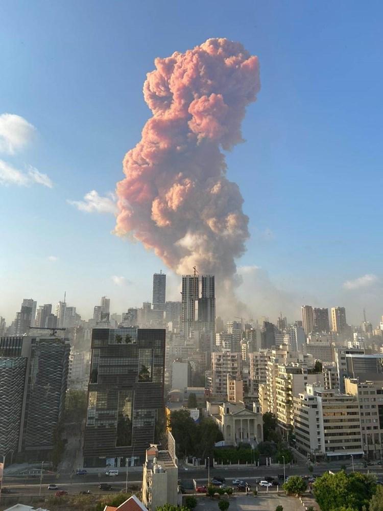 انفجار عنيف يهز مرفأ بيروت، ووزير الصحة اللبناني يعلن سقوط 30 قتيلاً ونحو 2500 جريح ووقوع أضرار مادية كبيرة/ فيديو