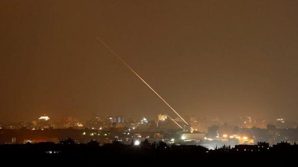 صافرات الإنذار الاسرائيلية تدوي اثر إطلاق صاروخ من غزة/ فيديو