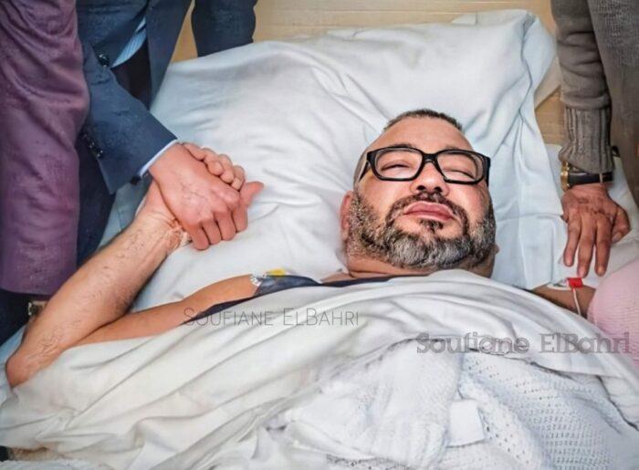 تقارير اعلامية مقلقة حول صحة الملك محمد السادس ومحاولة اغتيال ولي العهد ومقتل سائقه