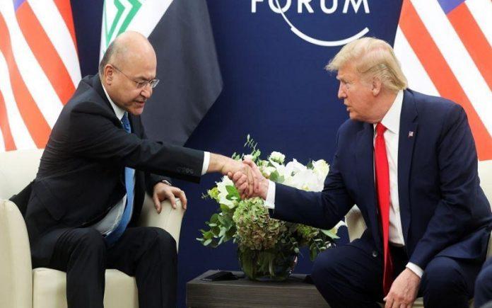 ترامب يقايض انسحاب قواته من العراق مقابل قيامها بالتطبيع مع إسرائيل